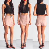 Waiting For You Skort - Dusty Pink