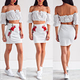 Wicked Games Skirt - White