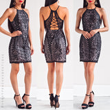 All Of The Lights Dress - Black