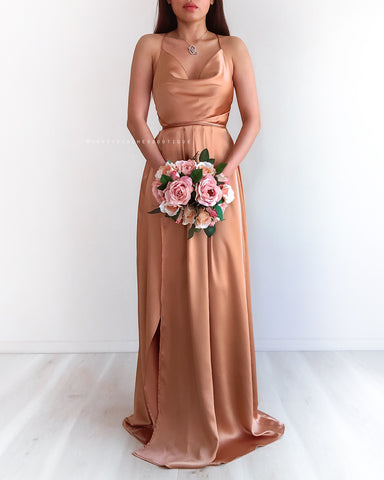 Loving You Is Easy Maxi Dress - Wine