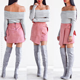 Keep Me Close Skirt - Pink