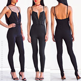 On The Rebound Jumpsuit - Black