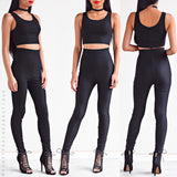 Riding Solo High Waisted Pants - Black
