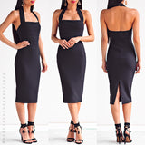 Only Lover Midi Dress - Black