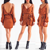 A Taste Of Honey Dress - Brown