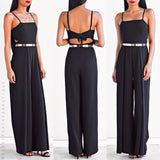 Seek The Truth Jumpsuit - Black