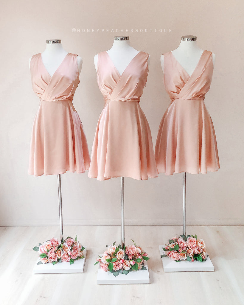 Tegan Dress - Blush
