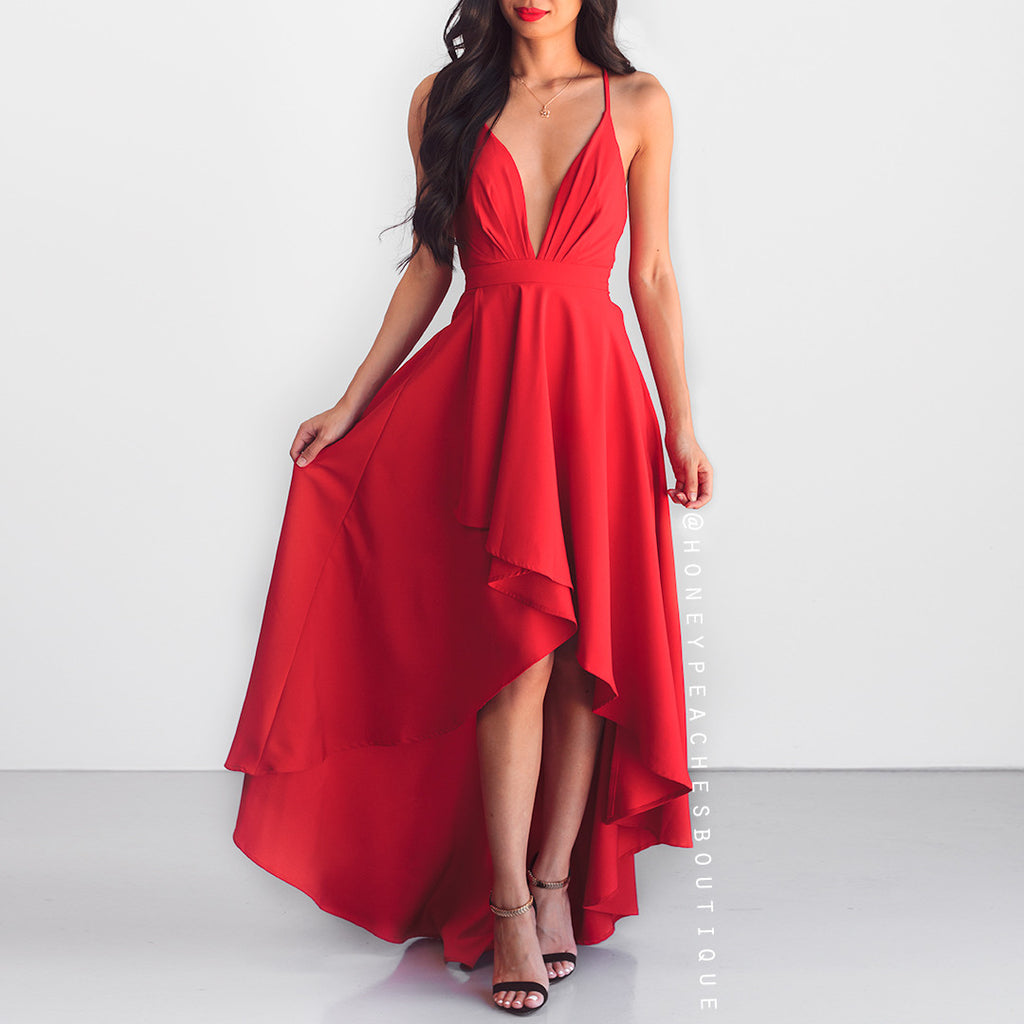 This Love Is Forever Dress - Red