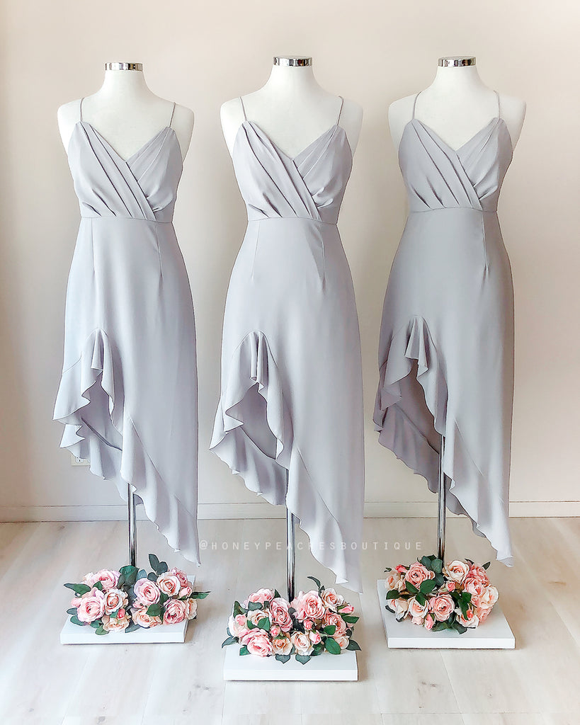 Morgan Dress - Grey