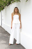 Natalie Jumpsuit - White