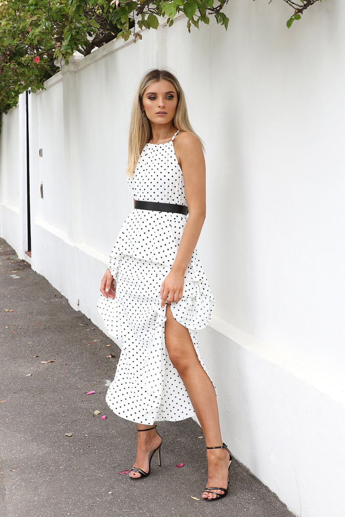 Polly Maxi Dress - White