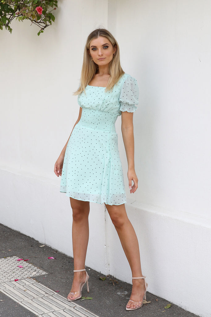 Marley Dress - Mint