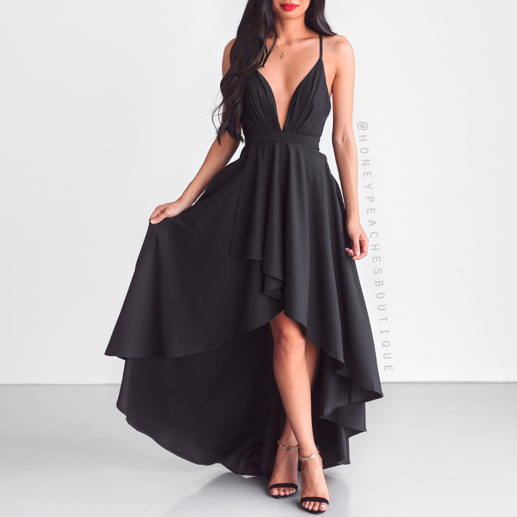 This Love Is Forever Dress - Black