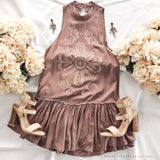 Lost Without You Dress - Mocha