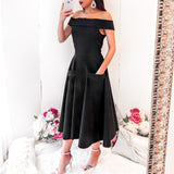 Katica Dress - Black