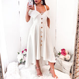 Jane Dress - White