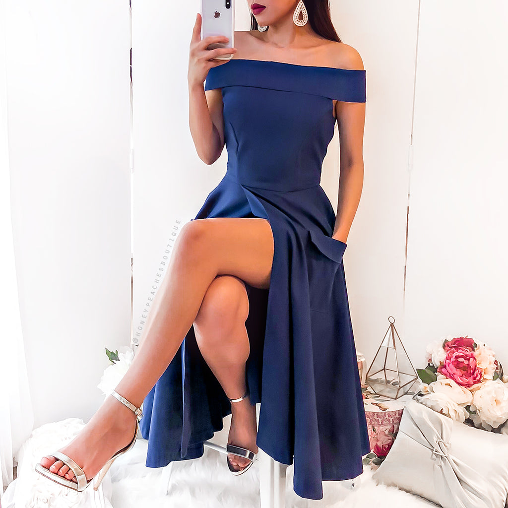 Katica Dress - Tanzanite