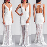 Inner Light Maxi Dress - White