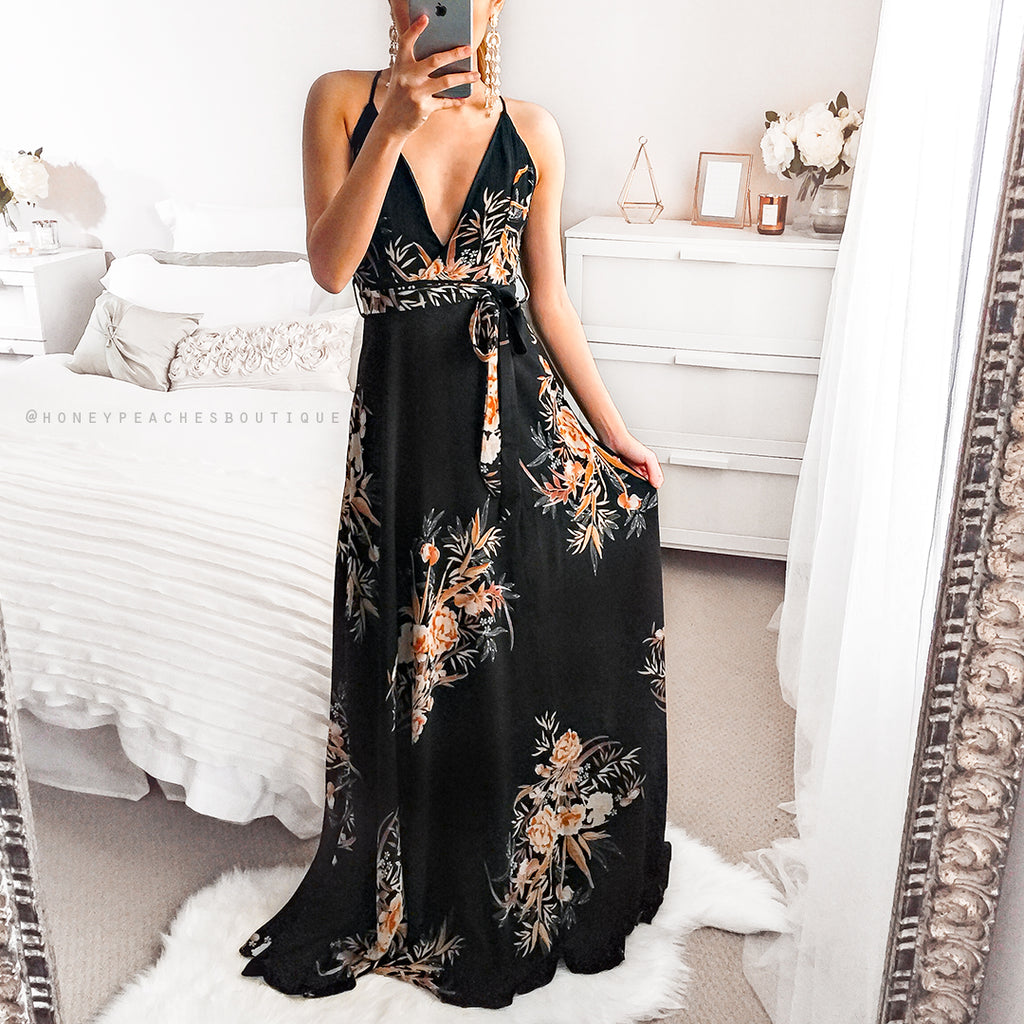 Among The Wildflowers Maxi Dress