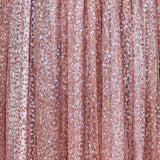 Timeless Love Glitter Maxi Dress - Rose Gold