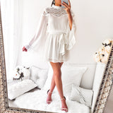 A Beautiful Place Playsuit - White/Silver