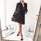 Lost In My Thoughts Dress - Black