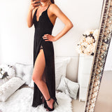 I Don't Mind Maxi Dress - Black