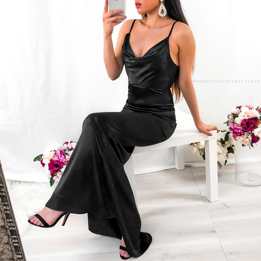 Alara Maxi Dress - Black