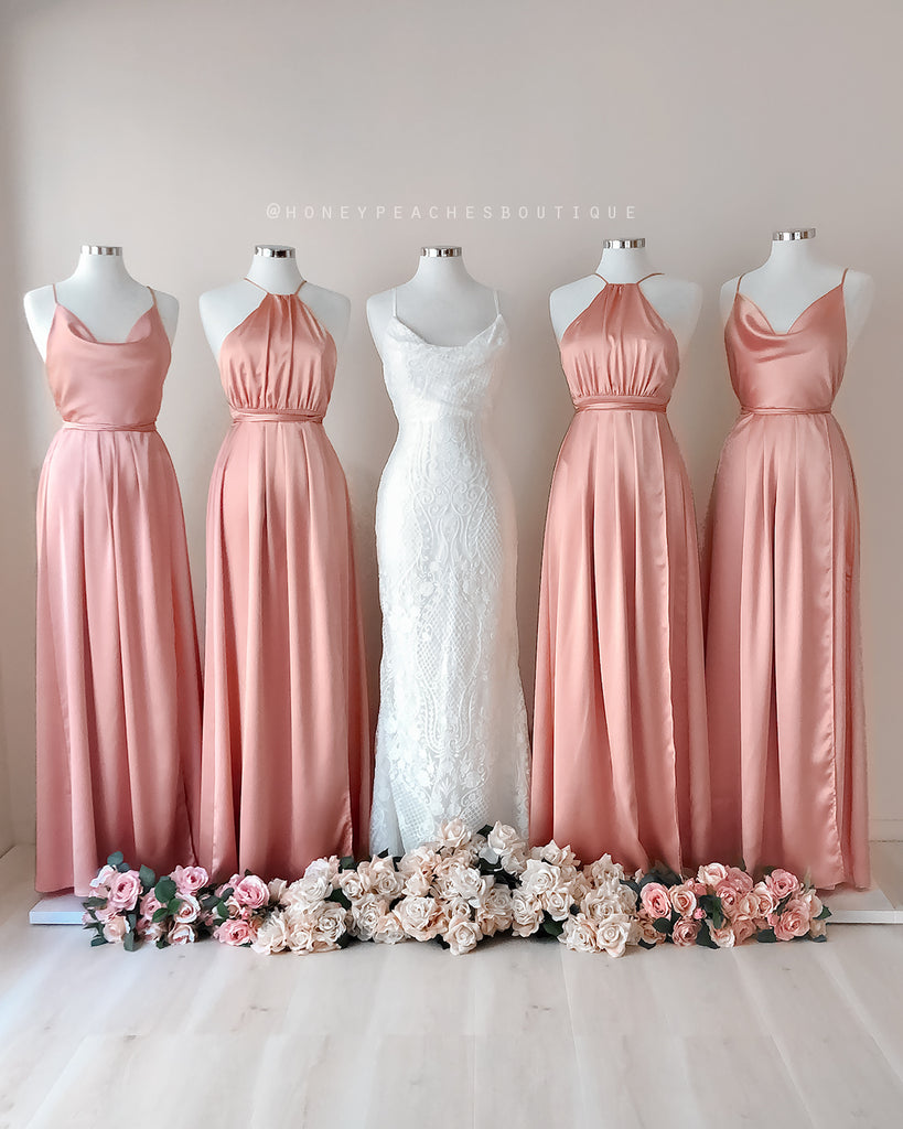 Samira Maxi Dress 2.0 - Dusty Pink