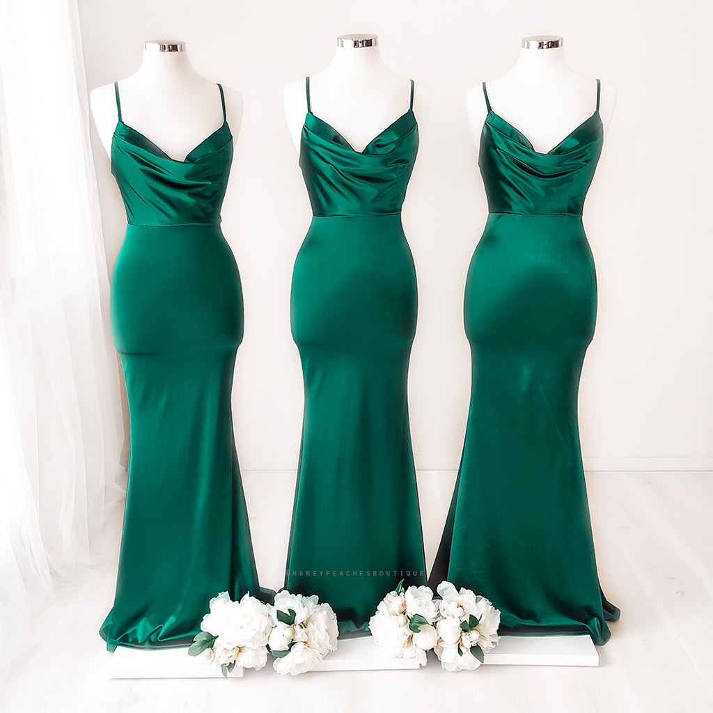 Alara Maxi Dress - Emerald Green