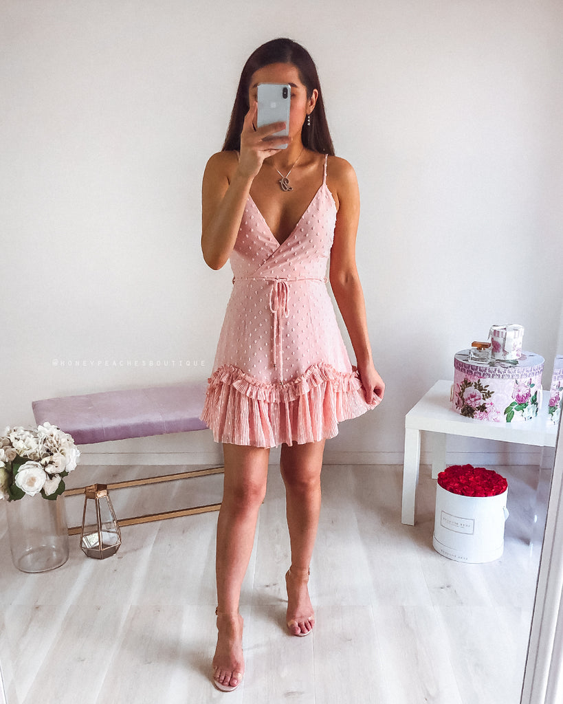 Hayley Mini Dress - Pink