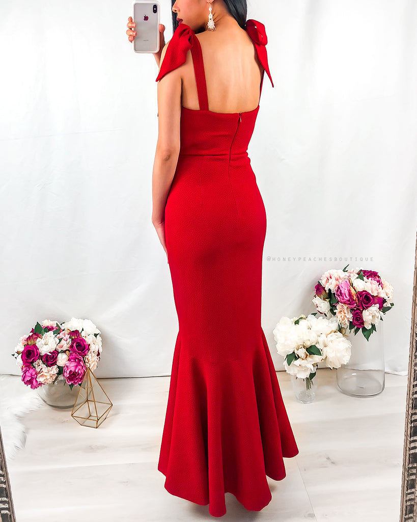 Mirabella Gown - Red
