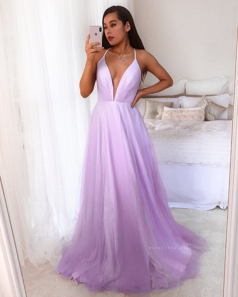 Amelie Gown by Jadore - Lilac