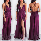 The Way I Love You Maxi Dress - Plum