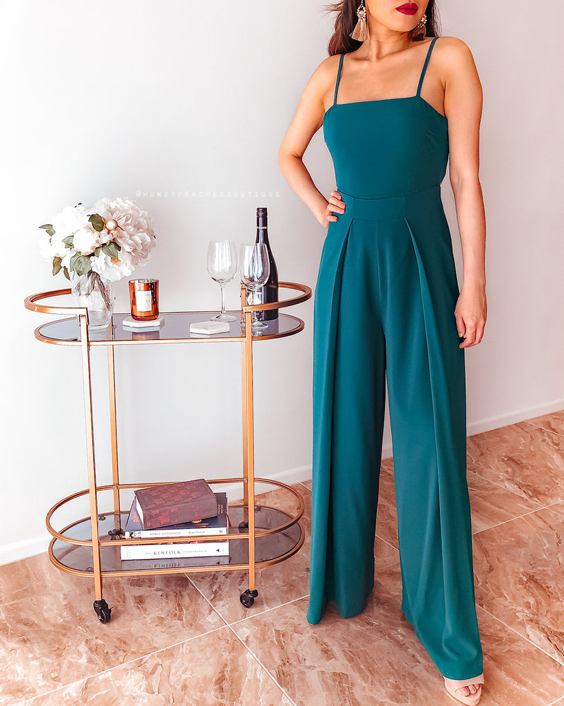 Seek The Truth Jumpsuit - Teal