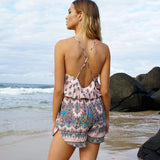 Lotus Playsuit - Pale Pink by Le Salty Label