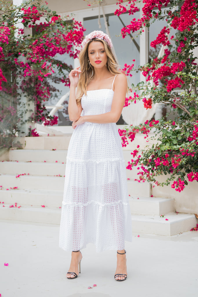 Adele Maxi Dress - White