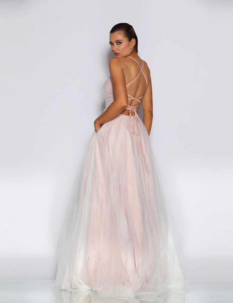 Amelie Gown by Jadore - Rose Pink