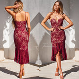 Amylia Dress - Red
