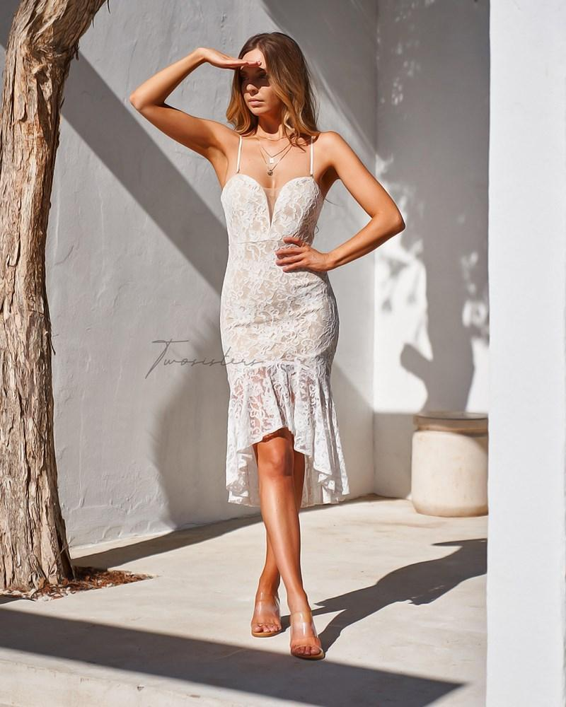 Amylia Dress - White