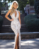 Made To Order: Aphrodite Sequin Gown by Jadore