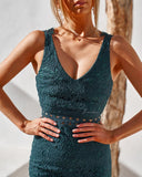 Brittany Dress - Emerald Green