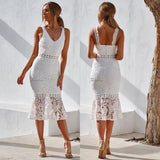 Brittany Dress - White