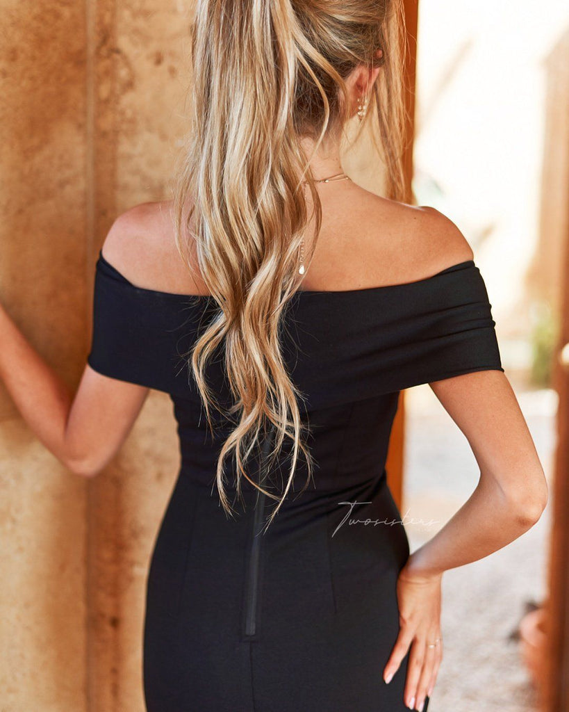 Brienne Dress - Black