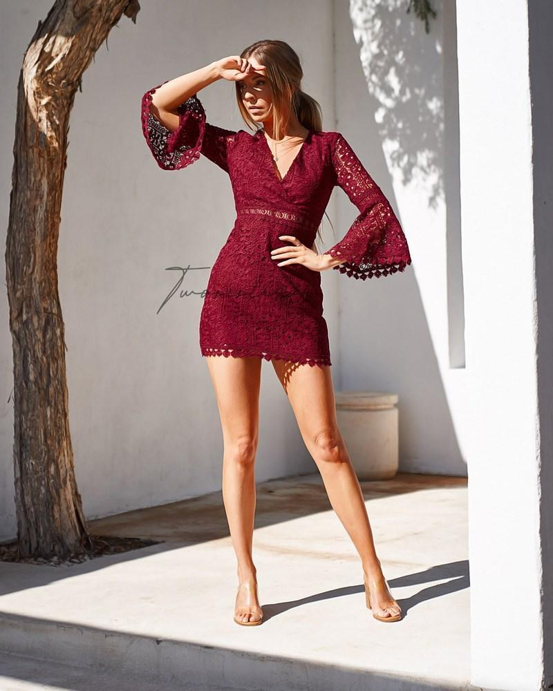 Brooklyn Dress - Red