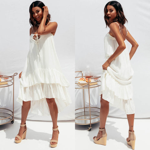 Bethany Dress - White