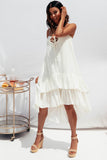 Cassie Dress - White