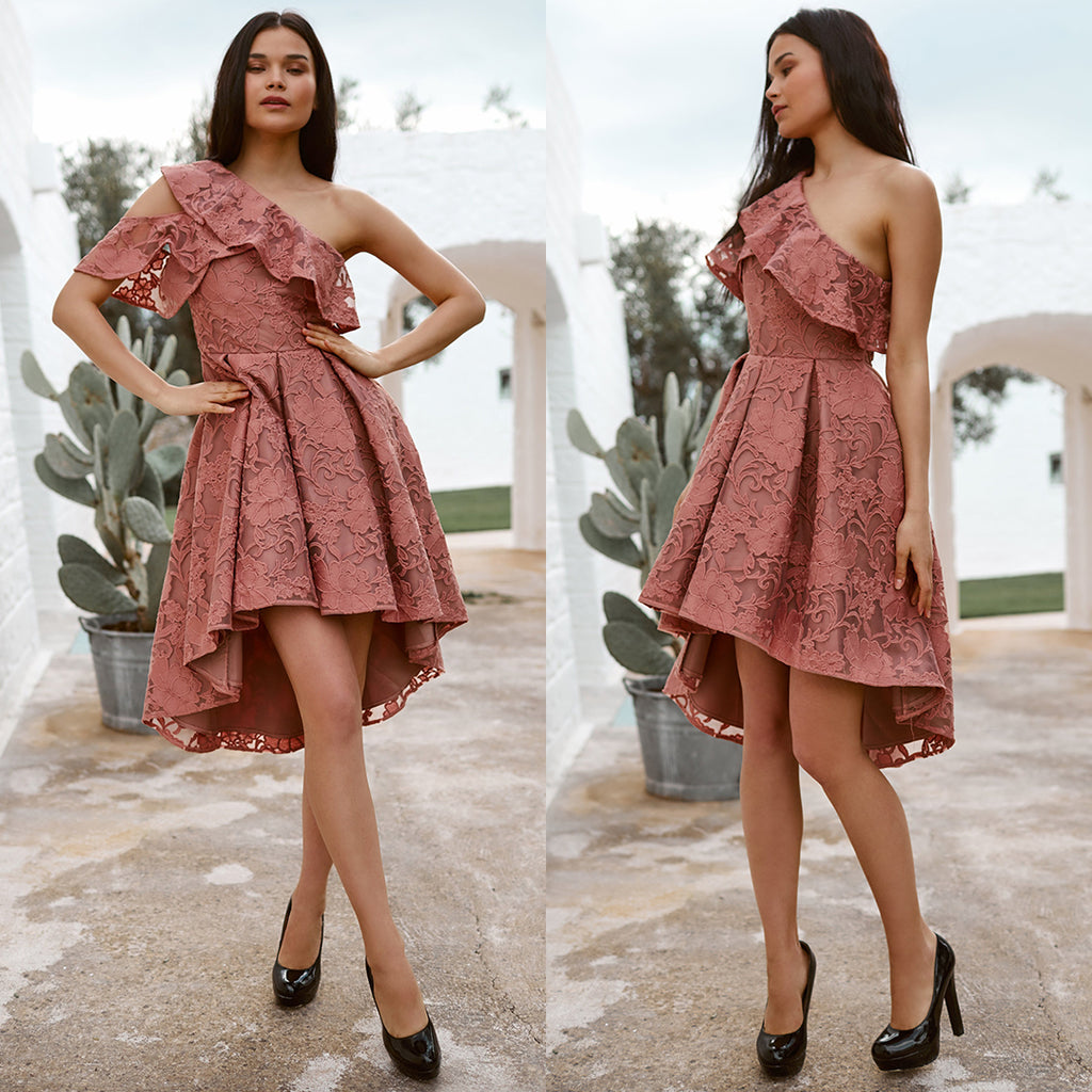 Camilia Dress - Mauve