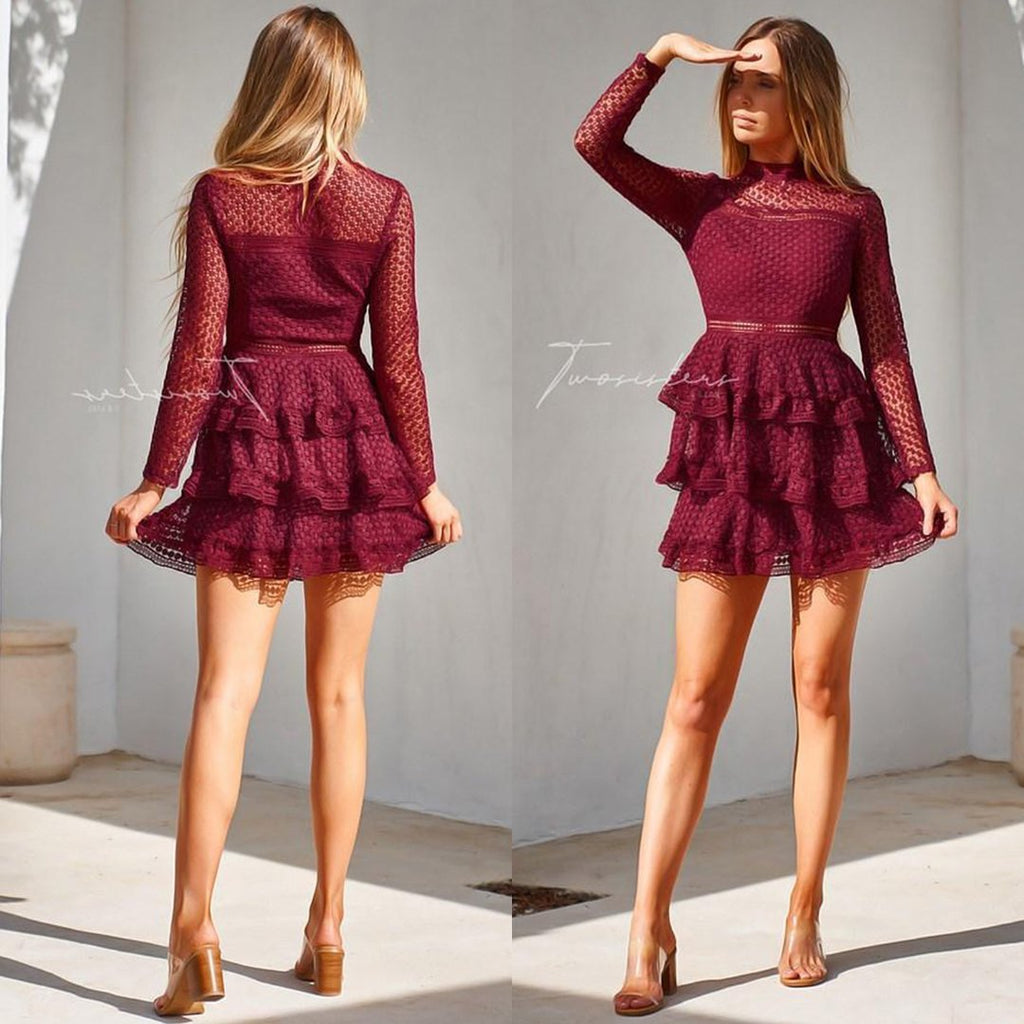 Cassidy Dress - Red