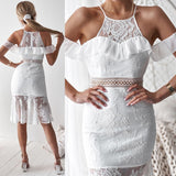 Connie Dress - White